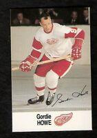 1988 Esso NHL All-Star GORDIE HOWE Sticker NNO NM-MT HOF Detroit Red Wings