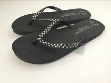 Ladies Shoes Flip Flops Size 5/6 Eu 38/39 Black Brand New With Tags