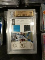 2011 National Treasures RC Cam Newton 2 Color Patch /99 Rookie, BGS 10!!!