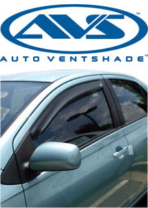 AVS 92514 Tape-On Window Ventvisors 2-Piece Smoke 1994-2004 Ford Mustang