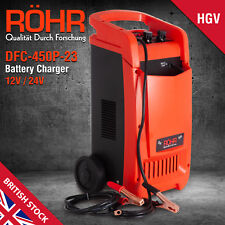 ROHR12V & 24V Portable Battery Jump Charger HGV Lorry Car Boat DFC-450P (23)