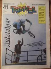 TROMMEL 41 - 1990 BMX-Radler Schülerlotsen Matthias Reim-Poster Barbie-Puppe
