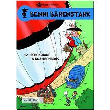 Benni Bärenstark 12 Schokolade & Knallbonbons FUNNY COMIC PEYO LP 70er KLASSIKER