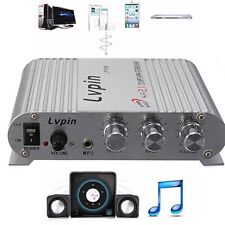 200W 12V Super Bass Mini Hi-Fi Stereo Amplifier Booster Radio MP3 for Car Home