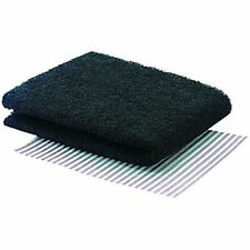 LARGE COOKER HOOD Extractor GREASE & CARBON FILTER Universal Cut To Size - 3PK
