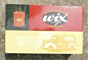 MIB WIX FILTERS FIRST GEAR ANNIVERSARY 1939 CHEVROLET CANOPY PANEL TRUCK BANK