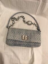 MIU MIU Leather Matelasse Crystal Clutch Crossbody-Shoulder Bag Clutch 2d443ad6df7ed