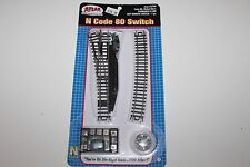 N Scale Atlas 2700 Left Remote Switch Code 80 Nickel Silver New