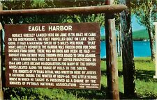 Eagle Harbor Keweenawland Copper Country Michigan MI Postcard