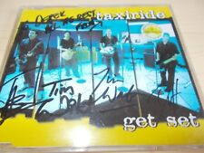 TAXIRIDE - GET SET - OZ 3 TRK CD SINGLE **SIGNED** - INDIE