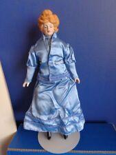 "1979 15"" Porcelain Head Gibson Girl Doll- Hand Painted- Shackman"