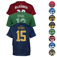 NHL Reebok CCM Team Player Name & Number T-Shirt Collection Boys Youth (4-18)