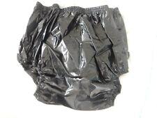 """Adulte Bébé Noir Brillant Très Bruyant En plastique Pantalons. Taille L Large 29"""" Taille -36"""""""