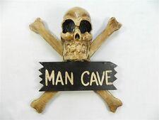 Porte Signe Pirate Crâne & Crossbones Porte en Bois Mural Keep Out-Man Cave
