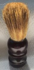 "Shaving Brush Brown Plastic Handle Approx 4"" x 1 1/4"""