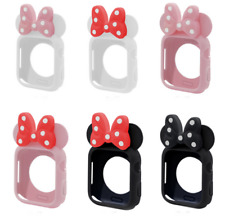 Minnie  For Apple Watch iwatch Silicon Series 4 3 2 1 Case Cover40/ 44/38mm/42mm