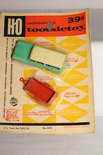 Tootsietoy Pocket Series, HO Scale, 1960 Ramber Station Wagon & Trailer, Carded