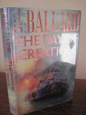 1st/1st Printing THE DAY OF CREATION J.G. Ballard MODERN Fiction CLASSIC