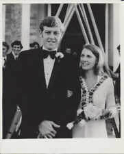1972 8X10 PHOTO OF OLYMPIC ROWER IAN MCWHIRTER ON HIS WEDDING DAY