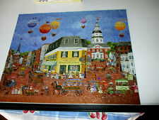 "500 Piece Bits And Pieces Puzzle ""Ballooning Over Annapolis"" 16""x 20"""