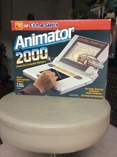 Vintage New 1987 Etch A Sketch Animator 2000 No.525