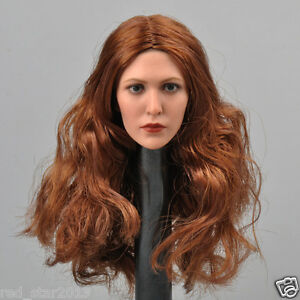 "1/6 Avengers 2 Scarlet Witch Head Sculpt 2.0 Ver. For 12"" Female Figure Body Toy"