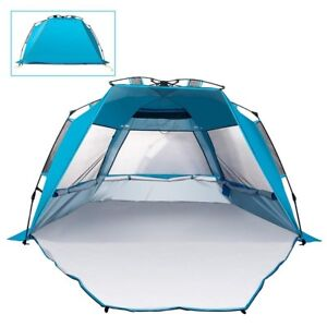 Mounchain Beach Tent Outdoors Easy Setup Portable Sun Shelter Quick Pop Up Caban