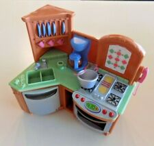 Fisher-Price Loving Family Dollhouse Kitchen Sink Stove with Sounds & Light