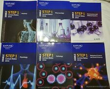 USMLE Step 1 All books Lecture Notes 2016 Total of 7 books Kaplan Steps