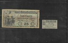 Military Payment Certificate & Special Shoe Stamp