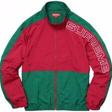 Supreme Split Track Jacket Red Green (Gucci Color)
