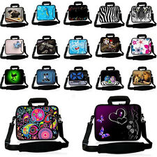 "15"" Laptop Case Shoulder Bag Neoprene Cover For 15.4"" 15.6"" HP Dell Macbook Acer"