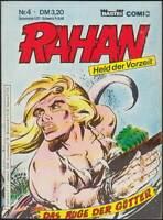 Rahan Comic-Taschenbuch Band 4: Das Auge der Götter (Bastei 1984) Z 1-2