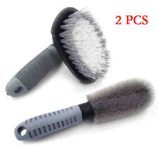 Car Motorcycle Wheel Tire Rim Hub Cleaning Brush Wash Scrub Tools Easy to Clean