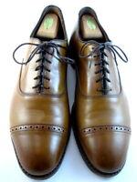 "Allen Edmonds ""FIFTH AVENUE"" Men's Cap-Toe Oxfords 12 D Walnut USA (544)"