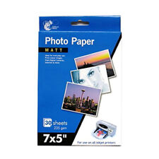 Matt Photo Paper Inkjet Printer 30 Sheets 235 gsm - 7 X 5""