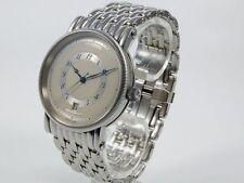 Elegante mechanisch - (automatische) Armbanduhren aus Edelstahl mit Glanz-Finish