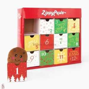 Zippy Paws 12 Day Dog Toy Advent Calendar - BNIP - ZippyPaws