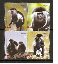 angola 2004 wwf animals animaux singe monkey affen faun