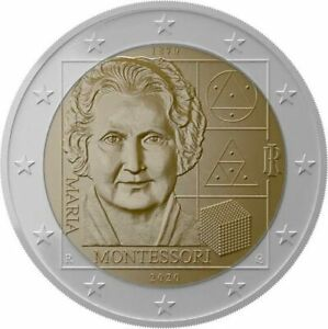 #RM# 2 EURO COMMEMORATIVE ITALIE 2020 - Maria Montessori