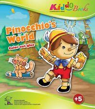 QuackDuck Malbuch Pinocchios World - Pinocchio - Malen Schneiden kleben