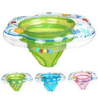 New Baby Kids Swim Ring Inflatable Infant Float Swimming Pool Water Seat Safety