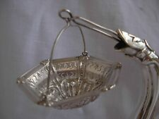 ANTIQUE FRENCH SOLID SILVER TEA STRAINER,LATE 19th CENTURY.