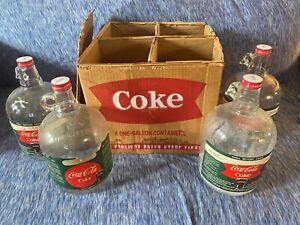 1950's Coca-Cola Syrup Bottles in Original Box!!