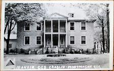 1930 Montmagny, Quebec Realphoto Postcard: 'Manoir des Erables' - Canada