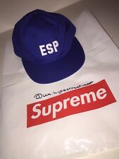 TAPPO LOGO Classico Supreme Navy Blue Box Logo Snapback Cappello