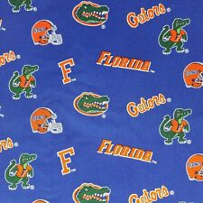 "NCAA Florida Gators Licensed Cotton Fabric 42"" X 2 Yards"
