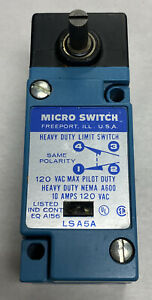 Honeywell Micro Switch LSA5A Heavy Duty Limit Switch NOS