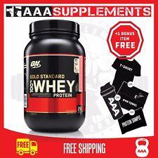 Optimum Nutrition Gold Standard Whey %7c 2lb Protein Supplement Fitness Gym Sport