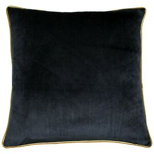 Meridian Velvet piped Cushion Covers by Riva Paoletti /  available in 18 colours